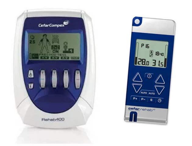 distribució d'aparells d'electroteràpia